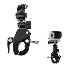 Guidon pour gopro hero 1 2 3 3 + 4 caméras tige de selle Clamp Roll Bar Mount Adaptateur