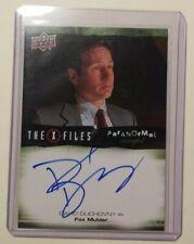 2019 X-Files Ufos & Aliens David Duchovny Auto Autograph Fox Mulder Signed card