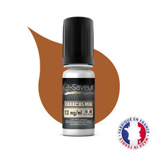 E-Liquide E-Saveur Saveur Tabac Mix US Taux Nicotine 12 mg pour Cigarette