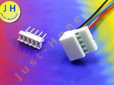 BUCHSENLEISTE+STECKER 5 polig/pins  GERADE  2.54mm HEADER Connector PCB #A876