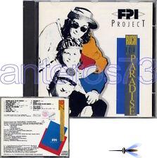 """FPI PROJECT """"RICH IN PARADISE"""" RARO CD - ITALO DANCE"""