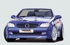 Rieger Front alerón labio para mercedes benz slk r170 hasta modelo 2000