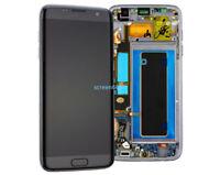 Affichage LCD écran Tactile Verre+Cadre Pour Samsung Galaxy S7 Edge G935F Noir