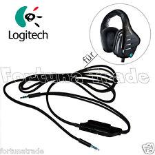 Original Logitech Ersatz 3,5mm Audio Kabel 1,5m G633 Gamer Headset Kopfhörer