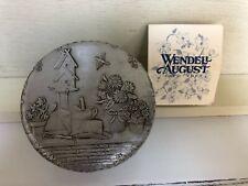 Wendell August Round Treasure Box