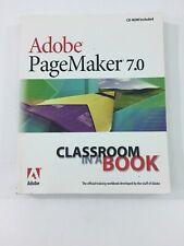 Adobe PageMaker 7.0 Classroom in a Book - Adobe (Paperback, 2002, CD-Rom)