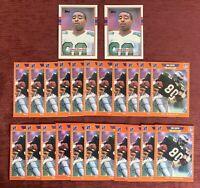 Lot of (24) 1989 Topps Pro Set CRIS CARTER Rookie Cards #121 #314 Vikings HOF🔥