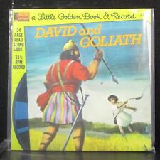 "Unknown Artist - David And Goliath 7"" SS Vinyl 45 Disneyland 218 USA 1976"