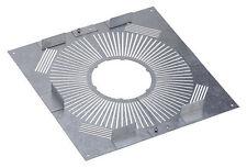 Plaque distance sécurité ventilée Inox-Galva PDS155-230 Poujoulat  NEUF
