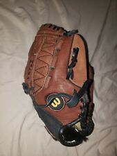 Youth Wilson Pro Baseball Glove 10.5 Inches A2479 Brown TBall right hand thrower