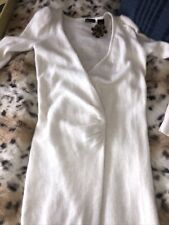 vintage long angora sweater sz m