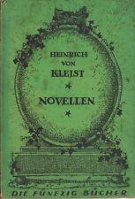 Heinrich von Kleist: novelas (para 1915)