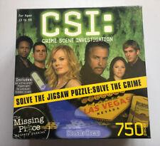 CSI Double Down Jigsaw Puzzle 750 Pieces Complete Las Vegas