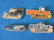 Russian Badges - Lot of 4 - Vintage Motor Cars - Shaped
