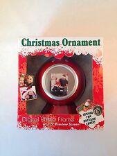 New Sakar 14690 1.5-inch Digital Photo Frame (Christmas Ornament, Red)