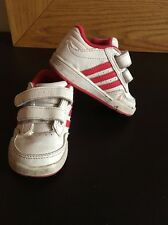 Girls Adidas Trainers, Size 4, VGC