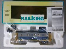 MTH Railking One-Gauge CSX (#16618) Offset Steel Caboose #70-77003 ~ TS