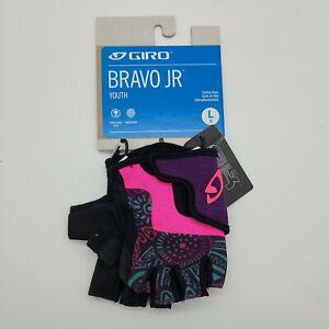 Giro Bravo JR Kids Cycling Gloves Blossom Size Large New
