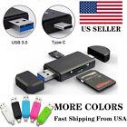 Micro USB OTG to USB 2.0 SD/Micro Reader Standard USB Male Adapter SD Card TF