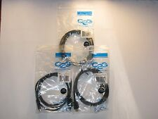 NEW  LOT OF 3 C2G  1.5m High Speed HDMI Cable with Ethernet (4.9ft)