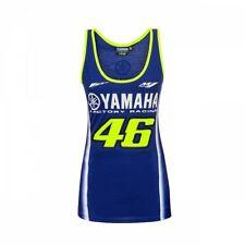 Official VR46 Valentino Rossi MotoGP Women Yamaha 46 Racing Tank Top - Blue
