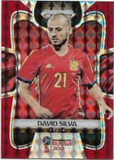 2018 Panini FIFA World Cup Red Mosaic Prizm (201) David SILVA Spain