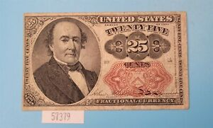 WPCoins ~ $0.25 Fractional Currency FR1308 4th Issue 1874