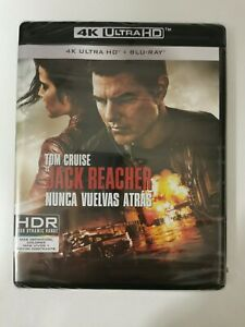 BLU-RAY  4K ULTRA HD Jack Reacher 2. Nunca Vuelvas Atrás  PRECINTADO