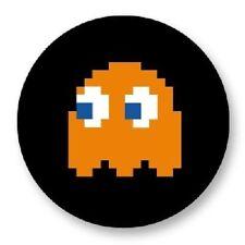 Magnet Aimant Frigo Ø38mm Retro Game Arcade Game Vintage Jeux 80s Pacman Clyde