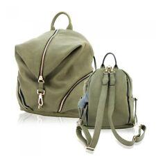 Concealed Carry BackPack Purse Gun CAMELEON Vegan Leather Handbag Holster Olive