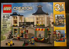 Lego 31036 Creator Toy & Grocery Shop 3-in-1 set - New in Sealed Box - Retired