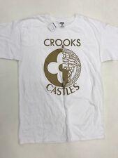 Crooks And Castles White Bronze  Mens Sample Size Medium Nice