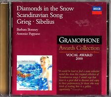 Diamonds In The Snow: Scandinavian Songs CD -Barbara Bonney & Antonio Pappano