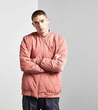 Adidas Original Fallen Future Quilted Bomber Jacket (Pink, Sz M) BR1813