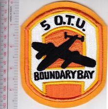 Canada Royal Canadian Air Force RCAF No 5 Operational Training Unit Boundary Bay