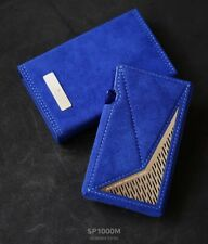 Dignis For Astell&Kern AK SP1000M Alcantara Genuine Leather Case + Pouch + Film