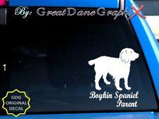 Boykin Spaniel -Mom-Dad-Parent(s) Vinyl Decal Sticker -Color Choice-High Quality