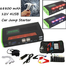 68800mAh Multi-function Jump Starter Emergency Car Auto Power Bank For Laptop