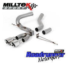 Milltek Focus ST Exhaust MK3 Diesel 2.0 TDCi Cat Back Polish GT100 Tips SSXFD201