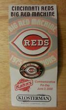 """Cincinnati Reds """"Big Red Machine"""" commemorative pin"""