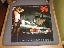 Michael Schenker Group MSG LP Built To Destroy '83 Heavy Metal European Pressing