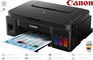 Canon PIXMA G3501 MegaTank WiFi EcoTank Inkjet Printer + FULL Canon GI-590 Inks