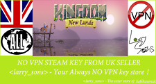 Kingdom: New Lands Royal Edition Steam key NO VPN Region Free UK Seller