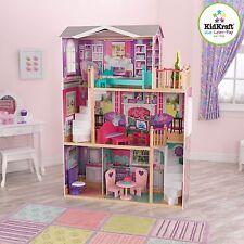 Kidkraft Casa De Muñecas elegante se adapta 46cm muñecas, muñecas de tamaño para bebé