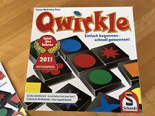 QWIRKLE Schmidt Spiele Spiel des Jahres 2011 KOMPLETT wNEU spielen Brettspiel :)