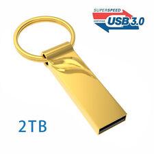 USB 3.0 Flash Drive 2TB High-Speed Data Storage Thumb Stick Store Movies Picture