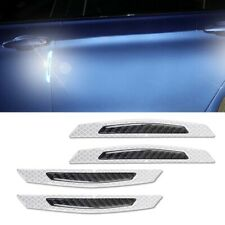 3D Super White Reflective Stickers Car Side Door Edge Anti-Scratch Protection