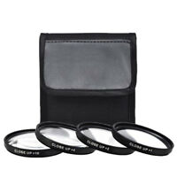 62mm 4 Piece HD Close-Up Filter Set For Nikon Sigma Sony Tamron Fujifilm Olympus