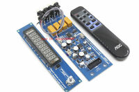 Assembeld CS3310 Remote Preamp Board with VFD Display 4 way preamplifier board