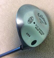 Callaway RH Big Bertha War Bird RCH 90 Boron/Graphite 9* Driver Golf Club